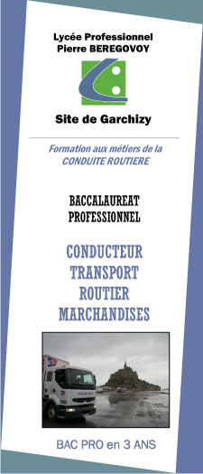 CONDUCTEUR TRANSPORT ROUTIER