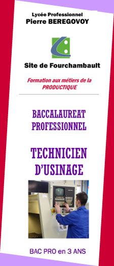 TECHNICIEN USINAGE